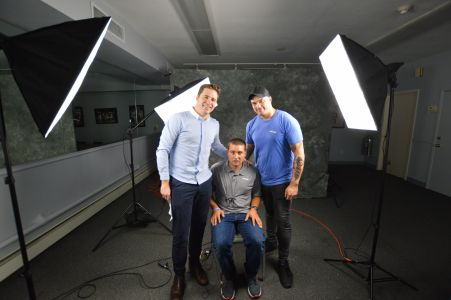 Patrick, Greg and Dave