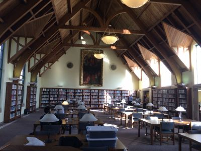 Mercyhurst University library