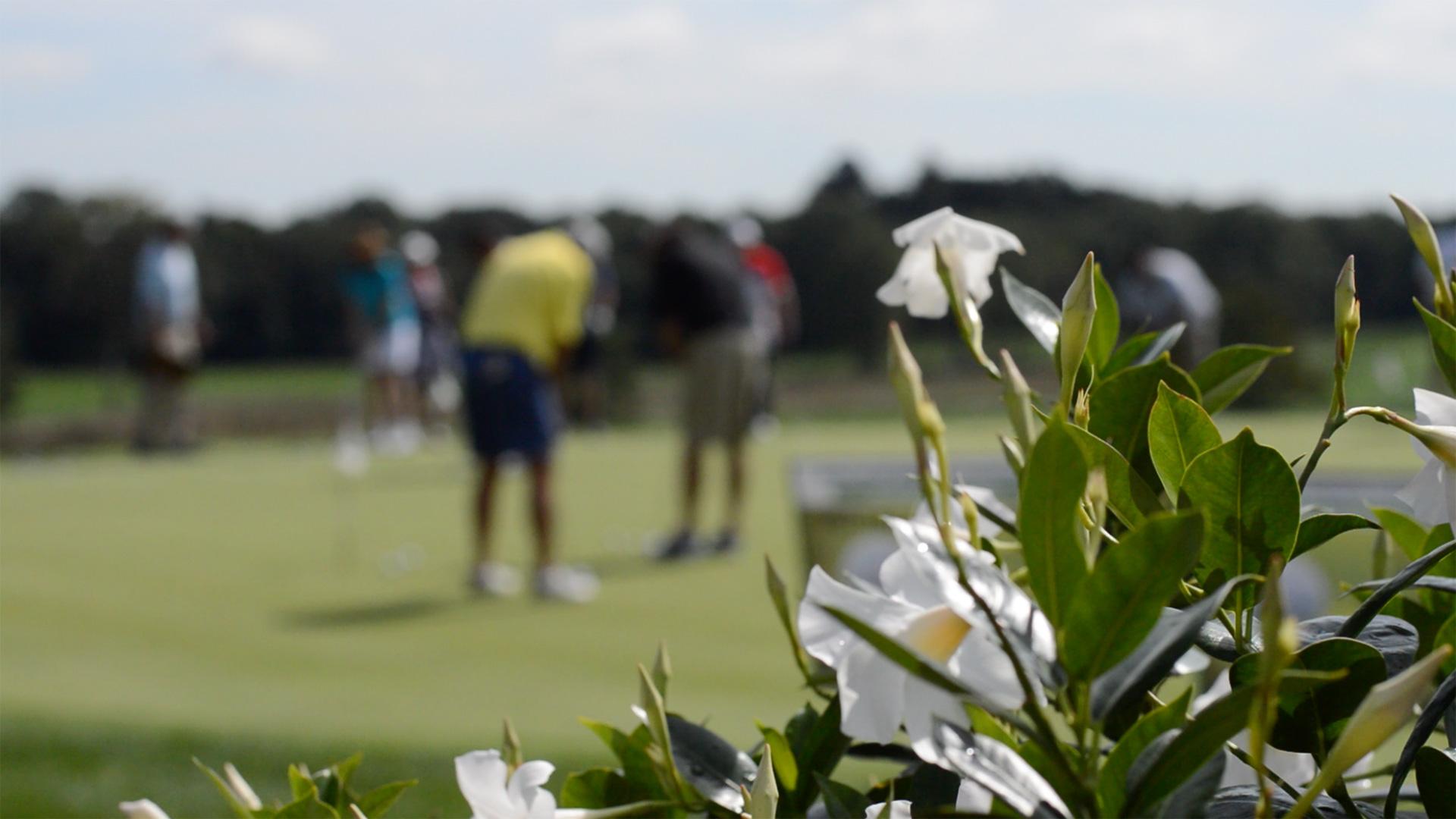 GolfOutingPracticeGreen